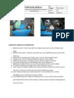 Instruksi Kerja Perawatan Dan Perbaikan Pada Hidrolik Kemudi