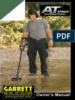 Manual de Usuario Garrett at Pro