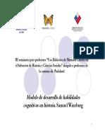 Modelo de Desarrollo de Habilidades