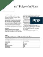 3mtm Scotchcasttm Polyolefin Fiber Product Data