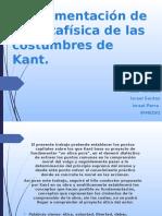 Fundamentación de La Metafisica de Las Costumbres de Kant (1)