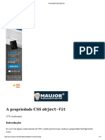 Propriedade CSS Object-fit