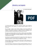 Salvador Allende y Su Legado Masónico (1)