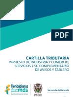 Cartilla Tributaria Impuesto de Industria y Comercio 2016