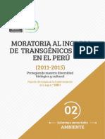 Moratoria Al Ingreso de Transgénicos OVM