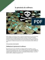 Historia de La Piratería de Software