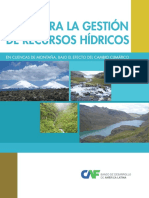 Guia Gestion Recursos Hidricos Cambio Climatico America Latina