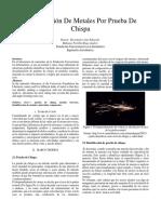 Informe de Chispa 1