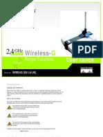 WRE54G Manual