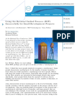 Using The RUP For Small Development.pdf