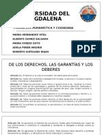 Constitución Política de Colombia y Estados Unidos