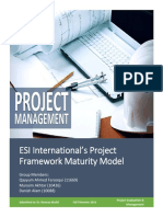ESI PMMM (Assignment 1)