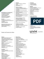 Guía de Estudios Ciencias de La Salud