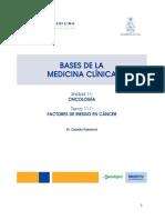 factores de riesgo en oncologia