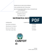 Matemática Maya