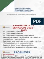 propuesta vehículos