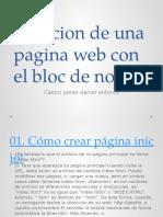creaciondeunapaginawebconelbloc-120910153935-phpapp02