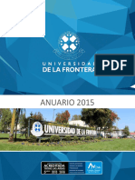 Anuario UFRO 2015