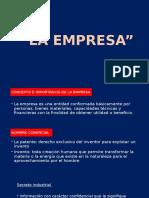 Derecho Mercantil La Empresa