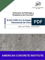 El ACI 318S-14 y La Supervisión de Obras de Concreto UPN