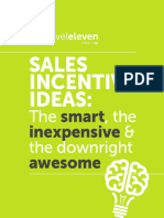 Sales Incentive Ideas eBook