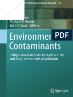 (Developments in Paleoenvironmental Research 18) Jules M. Blais, Michael R. Rosen, John P. Smol (Eds.)-Environmental Contaminants_ Using Natural Archives to Track Sources and Long-term Trends of Pollu