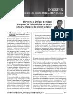 Entrevista a Enrique Bernales - Debido proceso en Congreso.pdf