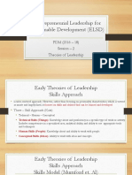 ELSD_Session 3_Theories of Leadership