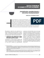 Jurisdicción Constitucional y DDFF - Alvarado Tapia