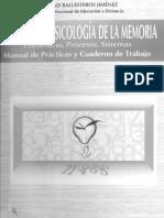 Practicas de Piscologia de La Memoria
