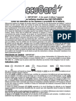Banner Accu Gard Instructions FR de NL IT