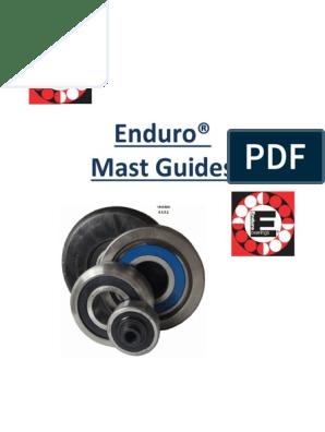 MG 305-DD-5 MAST Guide Roller