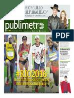 Publimetro 15 de Agosto 2016 - Publimetro