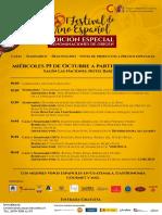 Programa del 1er Festival de Vinos Español