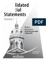 Financial Statements Provincial Government