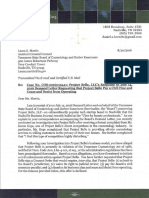 Project Belle, LLC Formal Response Letter to Board & Attachments