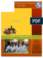 Informe de Lab 1 Identificacion de Nutrientes en Los Alimentos......
