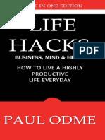Life Hacks by Paul Oadme