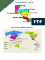 Paises de America Central