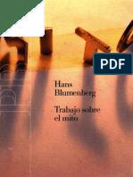 Blumemberg Hans - Trabajo Sobre El Mito.PDF