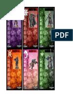 Deadzone 40K Stats Cards