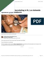 'Heroin babies' skyrocketing in N.J. as statewide epidemic grips newborns   NJ.com