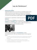 Qué es la Ley de Parkinson.docx