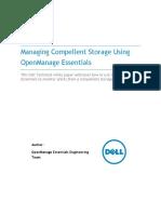 Managing Compellent Storage With Open Manage Essentials