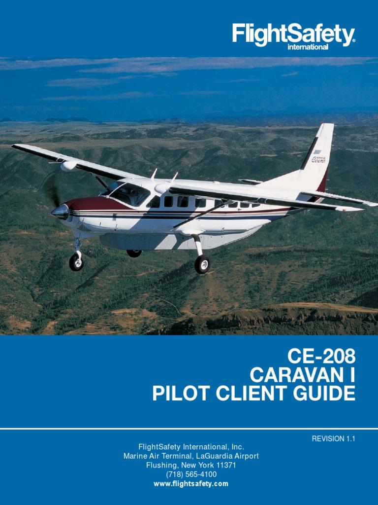 Cessna Caravan I Pilot Client Guide (1).pdf | Flight Instructor | Pilot  (Aeronautics)