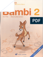 Matemática 2º ano - Bambi 2 Fichas