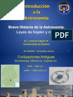 Intro a La Astronomia s01 Breve Historia Astronomia