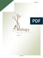 Biology Notebook