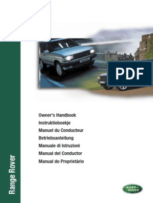 Full  Workshop and Service Manual+Owners Handbook on P38A CD Range Rover