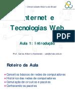 Ufabc Uab - Internet Aula1 Introducao Slides